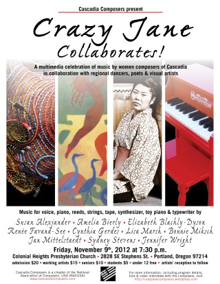 Crazy Jane Collaborates 2012